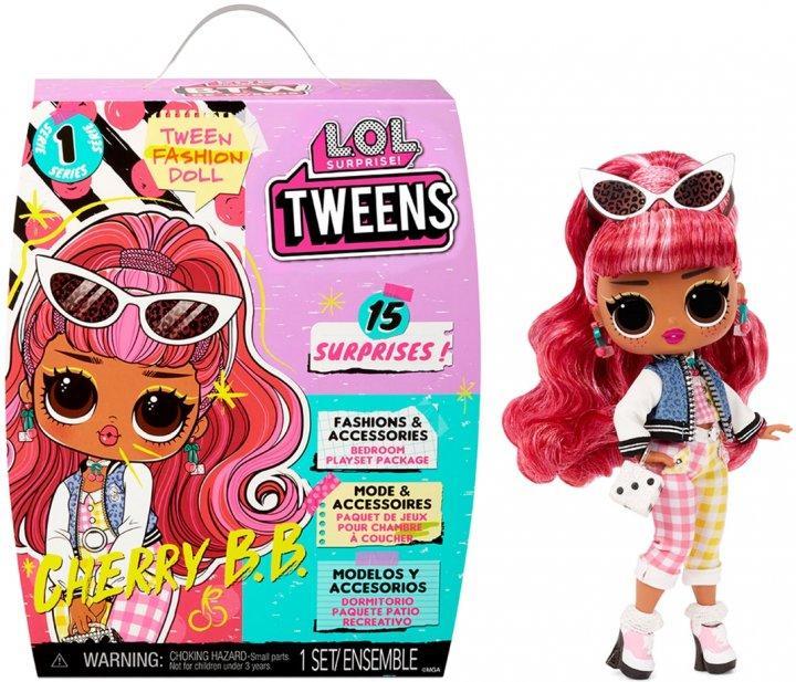 """Игровой набор с куклой L.O.L. Surprise! серии """"Tweens"""" – Черри-леди 576709"""