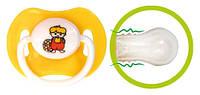 Пустышка силиконовая круглая