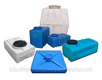Квадратная пластиковая емкость  для воды. 1000 л