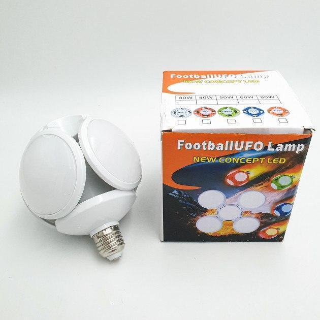 Світлодіодна Лампочка розкладна трансформер м'яч №1410