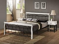 Кровать Signal Venecja черный/белый 160x200