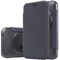 Кожаный чехол Nillkin Sparkle для ASUS ZenFone Zoom (ZX550) чёрный