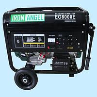 Генератор бензиновый IRON ANGEL EG 8000 E (7 кВт)
