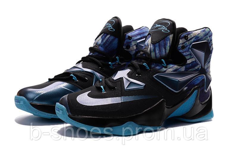 Мужские баскетбольные кроссовки Nike Lebron 13 (Blue/Multicolor)