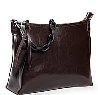 Женская кожаная сумочка клатч ALEX RAI 8900 brown Купить женскую кожаную сумку недорого в Украине