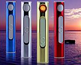 Электро спиральная зажигалка с зарядкой от USB Электронная Зажигалка G-01, фото 2