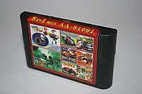 Картридж для Sega 8в1 Earthworm Jim 2, Road Rash,