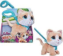 Интерактивная игрушка котенок на поводке, ходит, мяукает FurReal Friends, Hasbro Оригинал из США