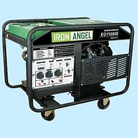 Генератор бензиновый трехфазный IRON ANGEL EG 11000 E3 (10 кВт)