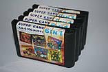 Картридж для Sega 6в1 Battletoads, Streets of Rage, фото 3