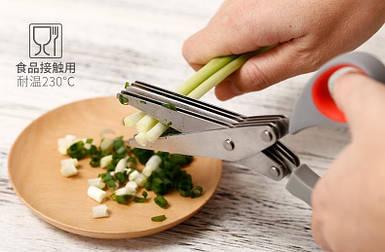 Кухонні ножиці з мультилезвием TW-188
