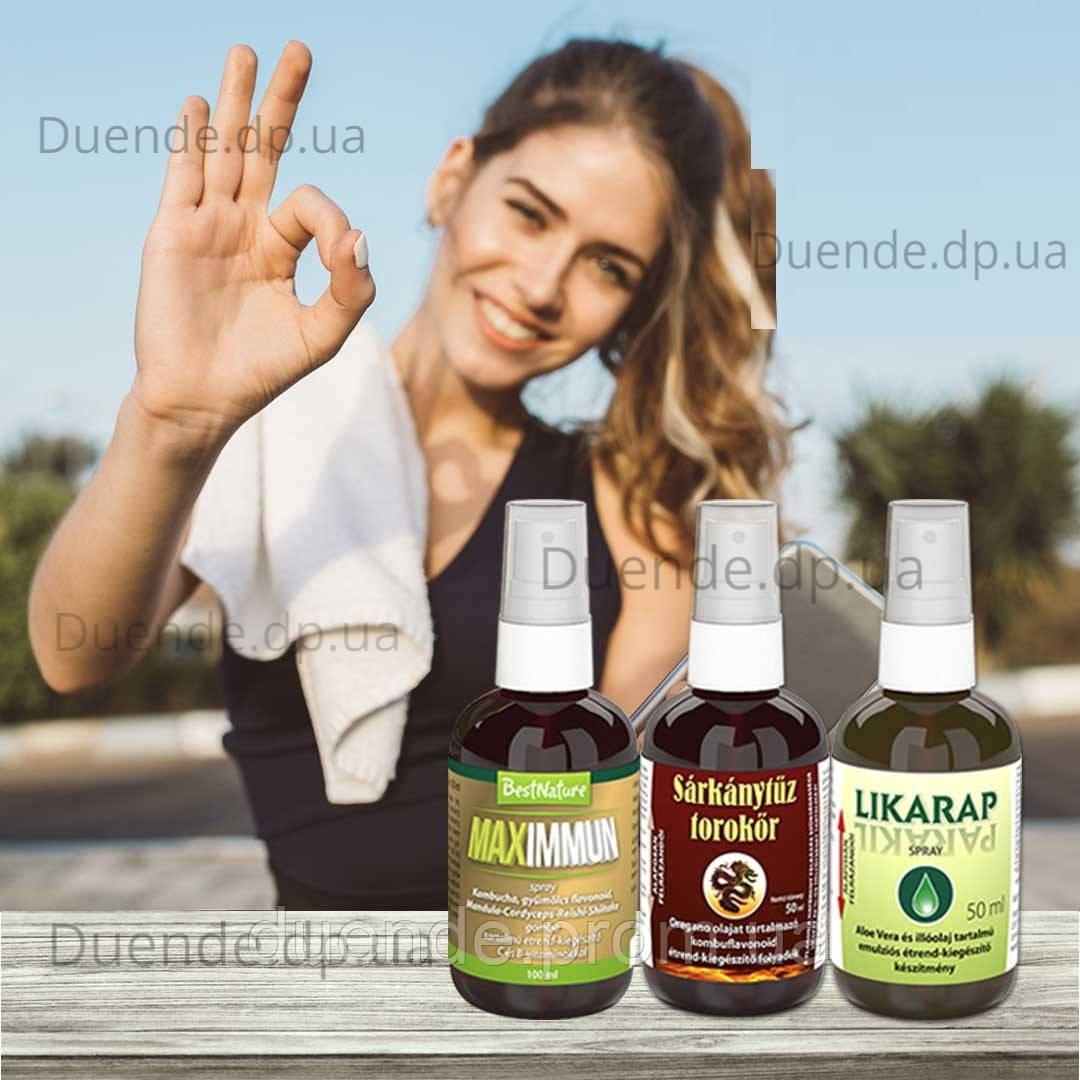 Индивидуальный Комплекс для лечения Ангины + повышение иммунитета, Bionet пр-ва Венгрии / bi - 36-23-14