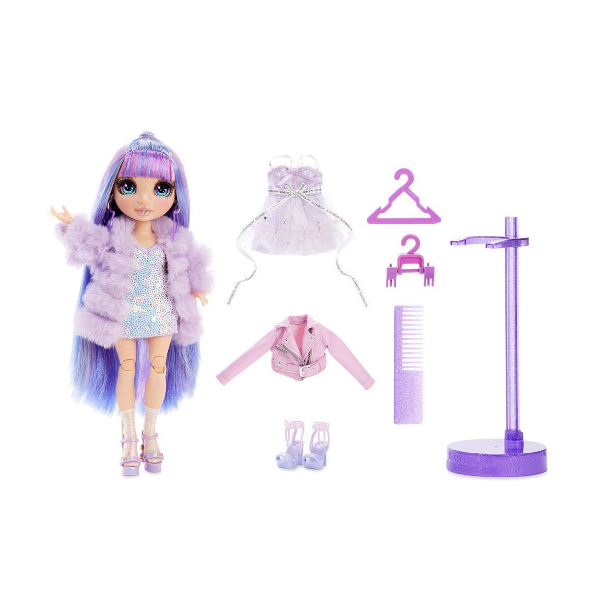 Кукла Rainbow High - Виолетта с одеждой. Оригинал из США