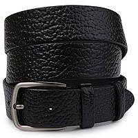 Кожаный мужской ремень Vintage 20740 Черный, фото 1