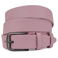 Жіночий шкіряний ремінь Vintage 20778 Рожевий, фото 1