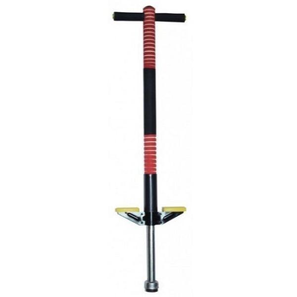 Джампер Пого Стік Pogo Stick (Коник) дитячий Чорно-червоний, палиця-скакалки