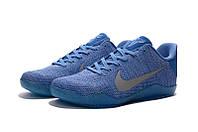 Мужские Баскетбольные кроссовки Nike Kobe 11 (Light Blue), фото 1