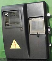 Щит герметичный 1ф. КДЕ-1 пластиковый IP55