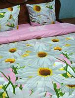 Евро комплект  постельного белья, ткань бязь
