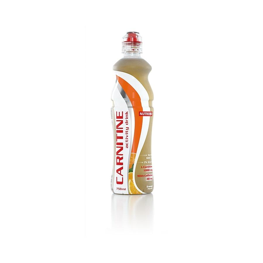 Спортивные напитки Nutrend Carnitine activity drink with caffeine 750ml