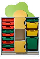 Мебель в детский сад Мебель UA Стенка Цветочная поляна №11 (56148)