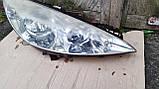 Фара передняя правая для Peugeot 308 , 2007-2011 , 9656162480, фото 4