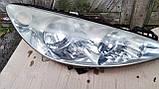 Фара передняя правая для Peugeot 308 , 2007-2011 , 9656162480, фото 3