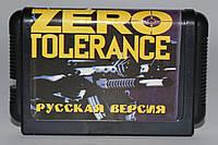Картридж для Sega Zero Tolerance