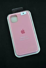 Чохол для телефону iPhone 11 Silicone Case original FULL №23 light pink