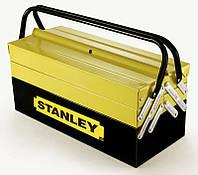 Ящик 194738 Stanley 450 x 208 x 208 мм профессиональный металлический секционный, фото 1