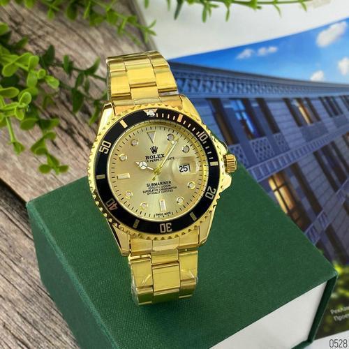 Rolex Submariner 2128 Quarts Gold-Black-Gold