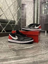 Чоловічі кросівки Nike SB Dunk Black Red