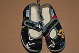 Тапочки на хлопчика Віталія 23,24 р камуфляж, фото 5