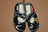 Тапочки на хлопчика Віталія 23,24 р камуфляж, фото 6