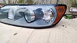 Фара передня ліва для Volvo S40 , Volvo V50 , 2004-2008 , 30698885 , 0301198203, фото 3