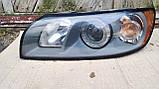 Фара передня ліва для Volvo S40 , Volvo V50 , 2004-2008 , 30698885 , 0301198203, фото 2