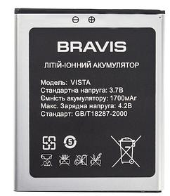 Акумулятор (Батарея) для Bravis Jazz (1100mAh)