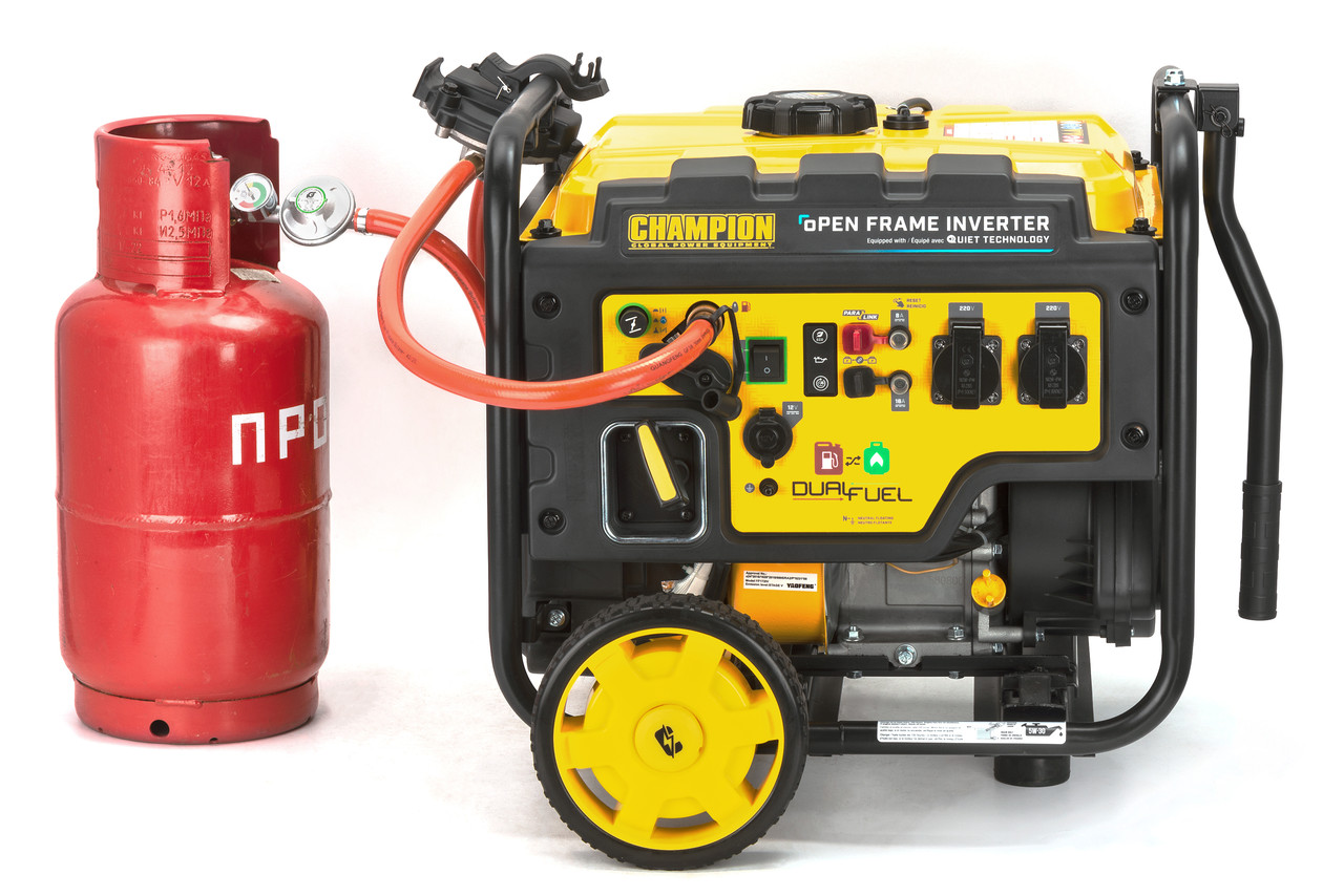 Генератор (газ/бензин) інверторний CHAMPION C4500i(G)