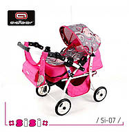 Детская коляска для кукол Sisi от польской фирмы Adbor, фото 1