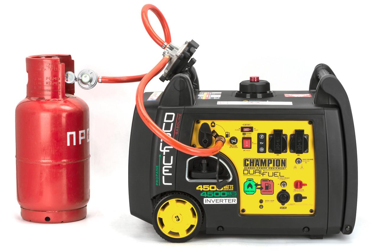 Генератор (газ/бензин) інверторний CHAMPION C4500iES(G) з дистанційним запуском