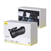 Подушка на подголовник  экокожа Baseus First Class Car Headrest Пенополиуретан (Черная) CRTZ01-01