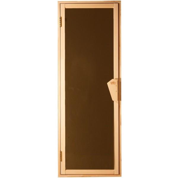 Tesli Дверь для бани и сауны UNO Sateen 1900 х 700