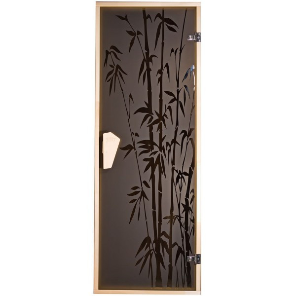Tesli Дверь для бани  и сауны Бамбук 1900 х 700