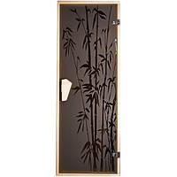 Tesli Дверь для бани  и сауны Бамбук 1900 х 700, фото 1