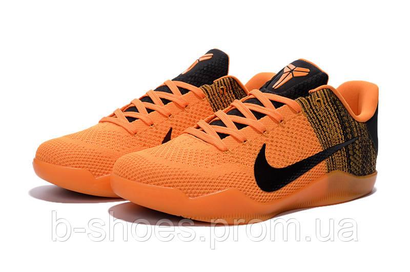 Мужские Баскетбольные кроссовки Nike Kobe 11 (Orange/Black)