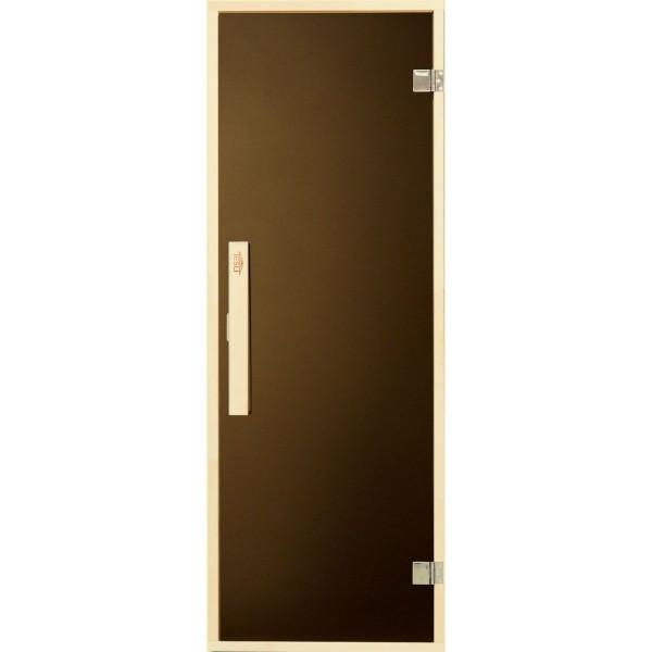 Tesli Дверь для бани и сауны Siesta Sateen 1900 x 700