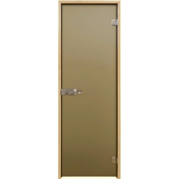 Tesli Двері Міжкімнатні - Aqua Bronze Sateen 2000х800