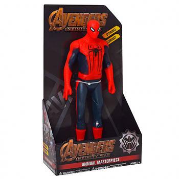Фигурка игрушка супер герой Человек паук Мстители с музыкальными и световыми эффектами Spider Man The Avengers
