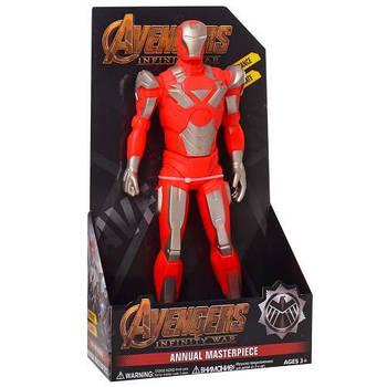 Фигурка игрушка супер герой Железный человек Мстители с музыкальными световыми эффектами Iron man The Avengers
