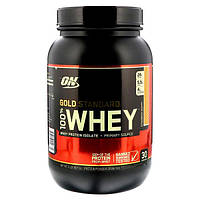 Optimum Nutrition Сывороточный протеин 100% Gold Standard 907 г клубника-банан